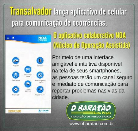 Transalvador lança aplicativo para comunicar ocorrência.