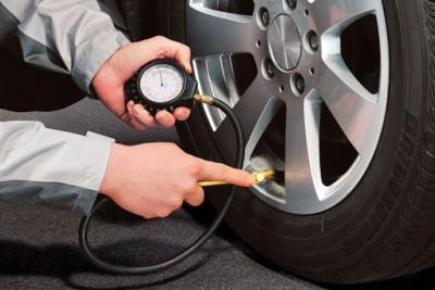 Uso de nitrogênio para enchimento de pneus