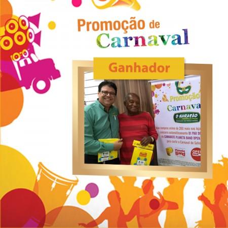 Resultado da Promoção de Carnaval