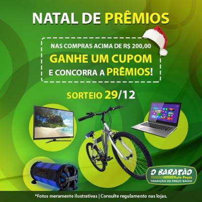 NATAL DE PRÊMIOS!!!