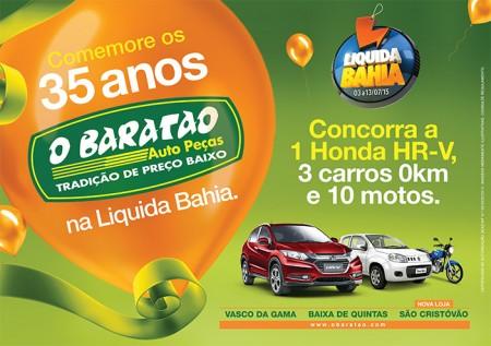 O Baratão está na Liquida Bahia!!!