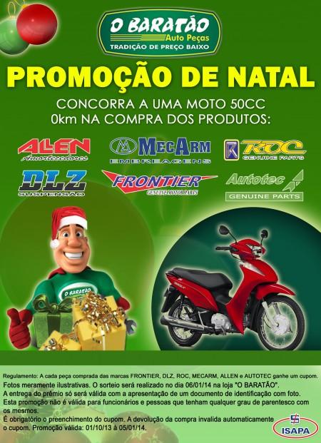 Promoção de Natal - O Baratão / ISAPA