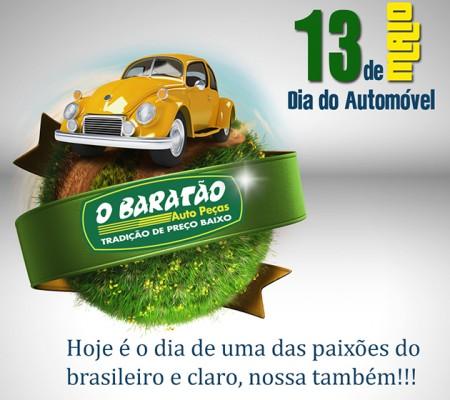 13 de Maio ( Dia do Automóvel)