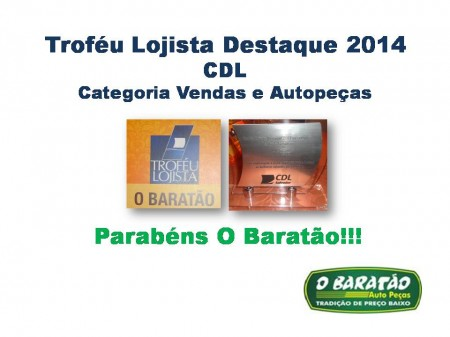Troféu Lojista - CDL