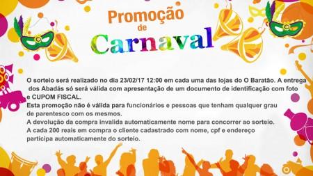 Regulamento da Promoção de Carnaval 2017
